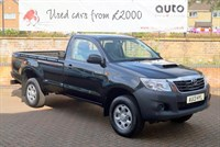 Used Toyota Hilux HL2 4X4 D-4D S/C HI LUX WITH TOWBAR