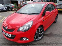 Used Vauxhall Corsa 16V TURBO VXR 3DR INC 18 INCH ALLOYS AND SAT NAV