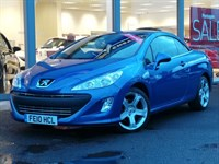 Used Peugeot 308 HDI GT COUPE CONVERTIBLE AUTO - LOW MILES