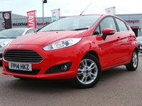 Used Ford Fiesta ECOBOOST ZETEC 5DR