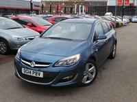 Used Vauxhall Astra CDTI SRI SPORTS TOURER ESTATE START STOP INC PARK SENSORS