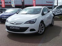 Used Vauxhall Astra GTC 16V TURBO 140PS SPORT 3DR START STOP