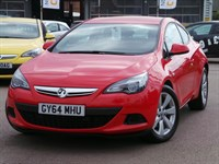 Used Vauxhall Astra GTC 16V TURBO 140PS SPORT 3DR AUTO