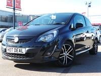 Used Vauxhall Corsa 16V TURBO BLACK EDITION 3DR