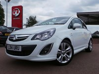 Used Vauxhall Corsa 16V SXI 3DR INC AIR CON VXR STYLE PACK AND 17 INCH ALLOYS