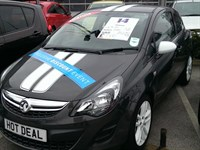 Used Vauxhall Corsa 16V STING 3DR INC AIR CON - DELIVERY MILES