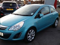 Used Vauxhall Corsa 16V ACTIVE 3DR INC AIR CON