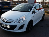 Used Vauxhall Corsa 16V LIMITED EDITION 3DR