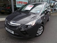 Used Vauxhall Zafira TOURER CDTI EXCLUSIV MPV