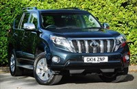 Used Toyota Land Cruiser D-4D 4X4 Invincible