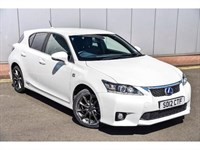 Used Lexus CT 200h F-Sport