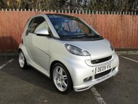 Used Smart Car Fortwo Coupe Brabus Xclusive 2dr Auto