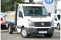 Used VW Crafter TDi (136PS) CR35 MWB Tipper