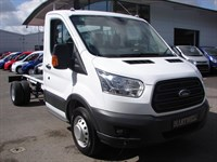 Used Ford Transit NEW!! Ford Transit 350 L3 (LWB) TDCi 155PS RWD Chassis Cab In Frozen Whi