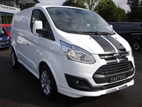 Used Ford Transit NEW!! Ford Transit Custom Sport 290 L1 (SWB) TDCi 155PS in Frozen White,