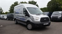 Used Ford Transit 350 L3 H3 Trend TDCi 125ps in Moondust Silver with Sat Nav & Air Con