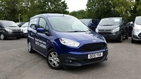 Used Ford Transit COURIER Trend TDCi 75ps in Deep Impact Blue with a Folding Mesh Bulkhead