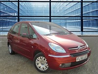 Used Citroen Xsara PICASSO DESIRE 16V , Air Conditioning Alloy Wheels Colour Ruby Red