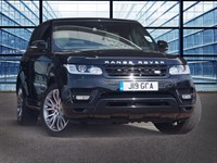Used Land Rover Range Rover Sport SDV6 HSE DYNAMIC, Full Pan Roof, Heated and Cooled Seats, Ivory Leathe