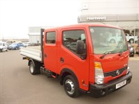 Used Nissan Cabstar 35.14 D/CAB DROPSIDE SPACE FOR 6 PASSENGERS AND EQUIPMENT