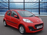Used Peugeot 107 Active VTi 68ps 1l Automatic Engine. Air Conditioning, Wind