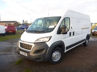Used Peugeot Boxer 435 LWB (HDI 130) (Pre Registered Delivery Mileage)