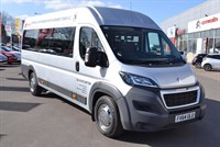 Used Peugeot Boxer HDI 435 L4H2 PROFESSIONAL 17 SEAT ADVANCED MINIBUS CONVERSION