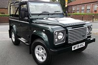 Used Land Rover Defender 90 TDCi XS Soft Top Man