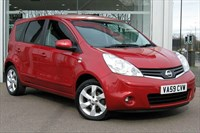 Used Nissan Note 16v n-tec