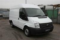 Used Ford Transit 125ps T280 Short Wheelbase Medium Roof Panel Van FSH w/ Deadlocks, Parking