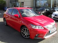 Used Lexus CT 200h F Sport HYBRID (2014 MODEL) LEXUS NAVIGATION 7.9% APR*