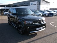 Used Land Rover Range Rover Sport SDV6 HSE BLACK