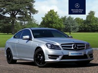 Used Mercedes C180 C-Class AMG Sport SAT NAV (1.6) BlueEFFICIENCY