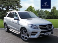 Used Mercedes ML250 M CLASS BLUETEC AMG SPORT W166