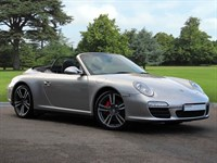 Used Porsche 911 . A Beautiful Example of 997 Carrera 4S Cabriolet in Platinum Silver. 2