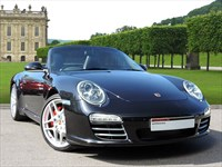 Used Porsche 911 A Stunning 911 (997) Carrera S Cabriolet in Basalt Black Metallic Paint. Th