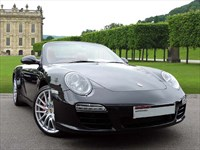 Used Porsche 911 . A Beautiful Metallic Basalt Black 911 Carrera 4S Cabriolet with PDK Gea