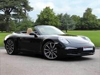 Used Porsche 911 . A Stunning 991 Carrera Cabriolet in Basalt Black. 2 Year Porsche Warran