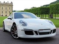 Used Porsche 911 . A Stunning 911 Carrera 4S With Black Leather Interior and white Exter