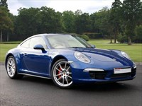 Used Porsche 911 . A Stunning 991 Carrera 4S in Aqua Blue Metallic Paint Offset Against Be