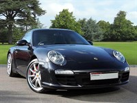 Used Porsche 911 . A Beautiful Basalt Black Carrera S with PDK. Sports Design Steering whe