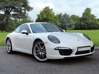 Used Porsche 911 . Stunning Example with PDK, White Beautiful Carrera Red Interior. Equ