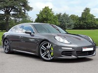 Used Porsche Panamera S-E . A Beautiful Example of Panamera In Agate Grey Met