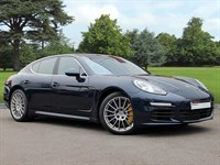 Used Porsche Panamera . A Fantastic Example of Panamera S-E-Hybrid in Dark Blue Metallic. This