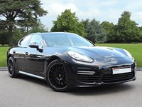 Used Porsche Panamera . An Exquisite Example of Panmera Turbo Sports Saloon.