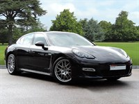 Used Porsche Panamera . A Stunning Panamera Turbo PDK in Basalt Black Metallic, 2 Year Porsche