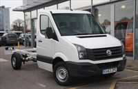 Used VW Crafter TDi (136PS) CR35 MWB Chassis Cab