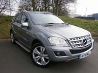 Used Mercedes ML300 M CLASS CDI BLUEEFFICIENCY SPORT