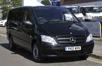 Used Mercedes Vito TD Dualiner Basic 115CDI Panel Van - Long