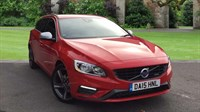 Used Volvo V60 R-Design Navigation Rear Seat EntertainmentWinter Pack